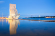 Leinwanddruck Bild - monument to the discoveries Lisbon