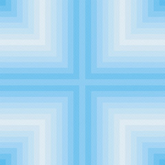 Blue square and line pattern3