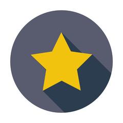 Star. Single flat icon.