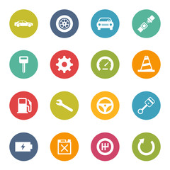 Car Automobile Icons Iconset
