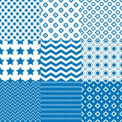 Circle  Square  Star Patterns