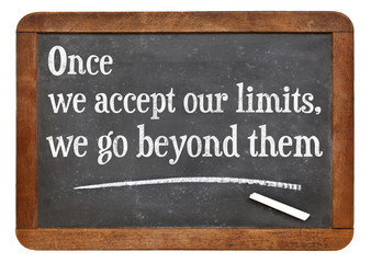 our limits quote