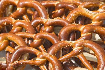 Traditional german bread (bretzel)
