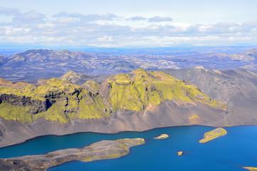Пейзажи Исландии, горы и рекиозера