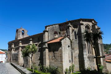 Ancient church in Betanzos, Galicia, Spain