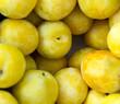 Greengage plums