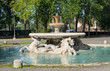 Fountain in Garden of Villa Borghese in Rome, Italy - 69626756