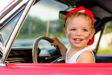 jonge autobestuurder
