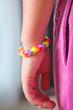 canvas print picture - rubber band bracelet