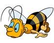 Obrazy na płótnie, fototapety, zdjęcia, fotoobrazy drukowane : Flying Bumblebee