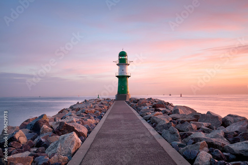 canvas print picture Ostsee am Morgen