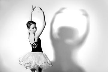 Ballerina with  tutu