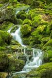 Die Blaueisgletscherquelle bei Ramsau im Berchtesgadener Land