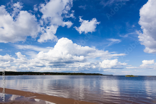 canvas print picture Beautiful sky