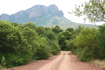 Landscape in the Marakele National Park