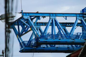 Metal Frame Work Construction