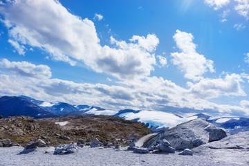 Dalsnibba und Gletscher