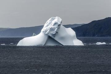 iceberg near Goose Cove, Newfoundland
