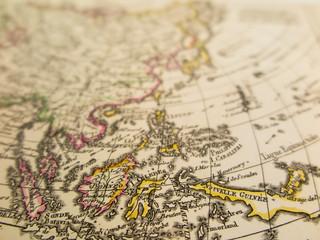 古地図 東南アジア