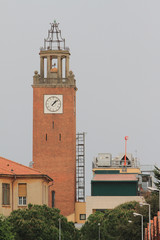 Tower with hours. Livorno, Italy