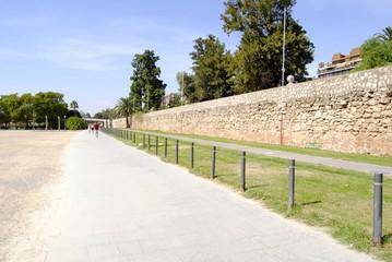 Paseo del parque de Valencia