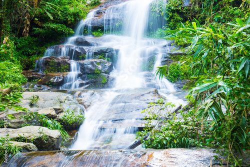 Mon Tha Than Waterfall In Doi Suthep - Pui National Park