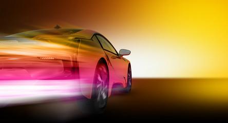 Speed car (HD Render)