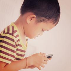 Asian kid - instagram filter