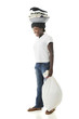 Haitian Tween Doing CHores