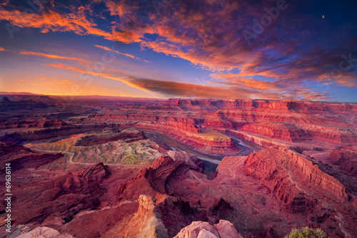 First Light at Dead Horse Canyon - 69636114