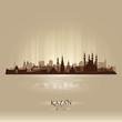 Kazan Russia skyline city silhouette