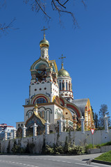 The temple of the Holy Great Prince Vladimir, Sochi