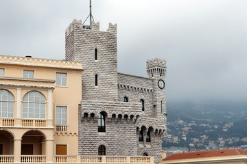 princely palace of Monaco