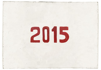 new year 2015 of the goat