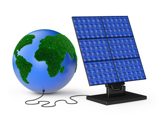 globe solar panel