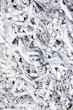 Shredded paper texture background - 69639123