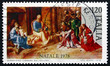 Postage stamp Italy 1978 Adoration of the Kings, by Giorgione
