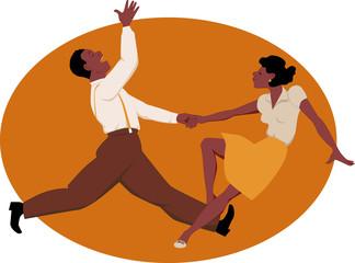 Dancing jitterbug
