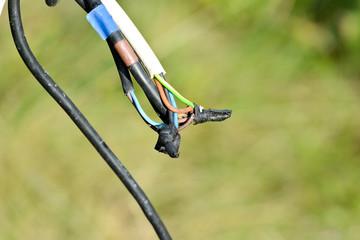 Kabel nicht fachgerecht