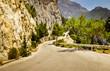 Obrazy na płótnie, fototapety, zdjęcia, fotoobrazy drukowane : Mounatin road in Greece