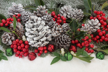 Traditional Christmas Flora