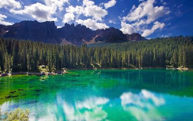 Lago di Carezza, sud Tirolo