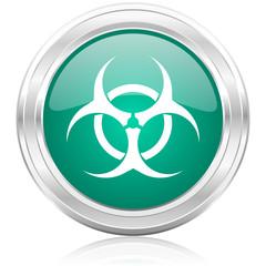 biohazard internet icon