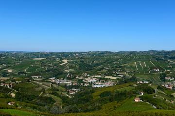 Panorama delle Langhe piemontesi