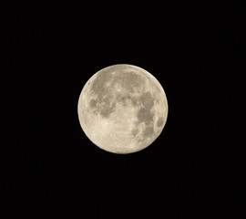 Supermoon on August 10 2014