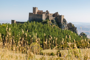 Medieval Castle of Loarre in Huesca