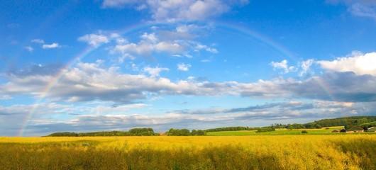 Regenbogen im Münsterland