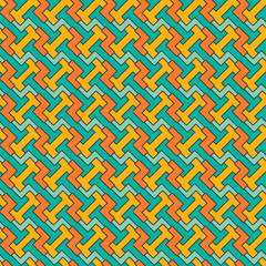 Abstract seamless geometric pattern. Vector background