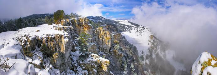 Winter highland