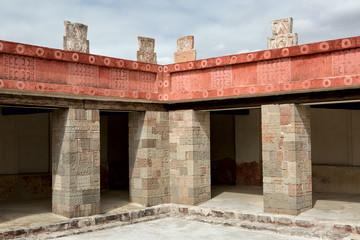 Aztec architectural detail